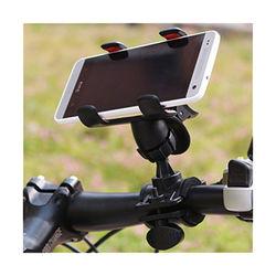 Suporte de Bicicleta e Moto para Smartphone - Preto
