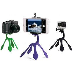 Suporte Tripé Flexível para Smartphone, GoPro e Câmera - Diversas Cores